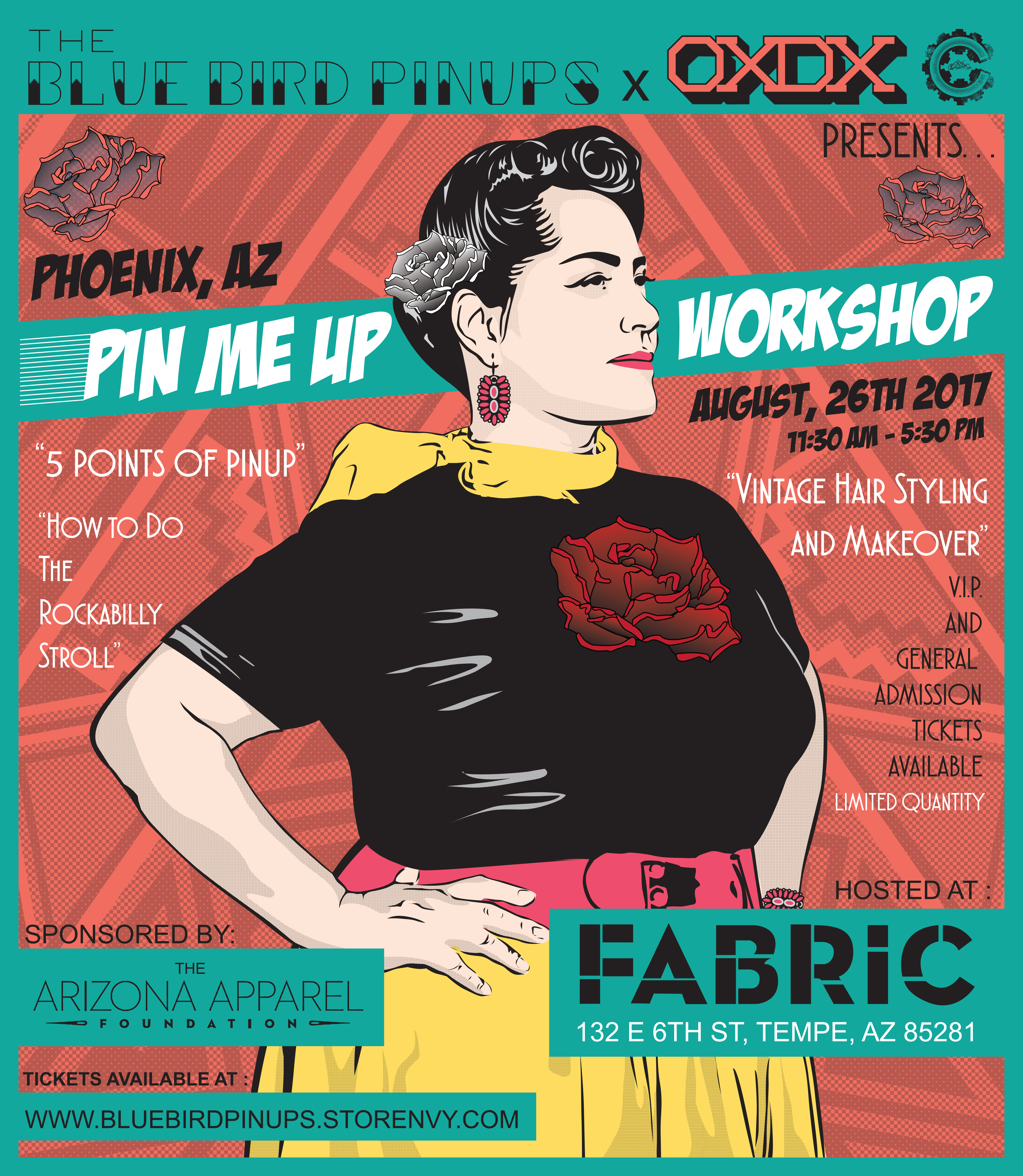 Pin Me Up Workshop